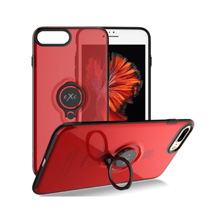 Etui/Case do iPhone 6/6S eXc MAGNETIC czerwone